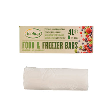 BioBag Freezer Food 4L Bag