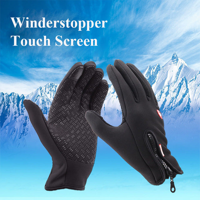 Touch Screen Windstopper Glove
