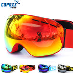 COPOZZ UV400 ANTI FOG BIG SKI MASK GOGGLES