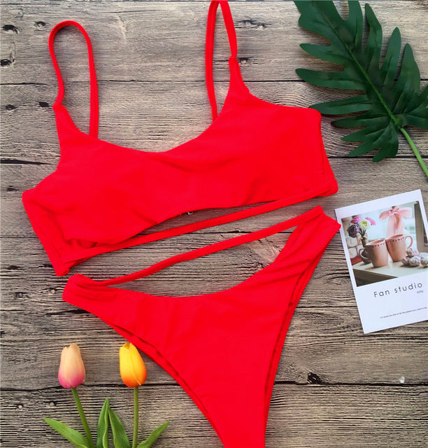 Ariel Sarah Sexy Hollow Out Bathing Suit