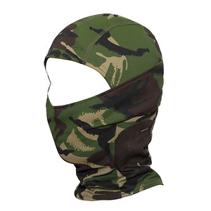 Camouflage Full Face Mask