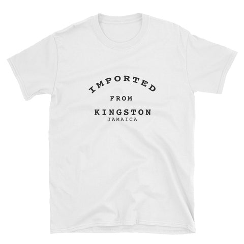 Imported from Kingston - Short-Sleeve Unisex T-Shirt - tingzapparel