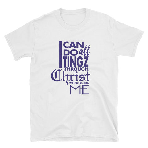 Tingz Through Christ - Short-Sleeve Unisex T-Shirt - tingzapparel