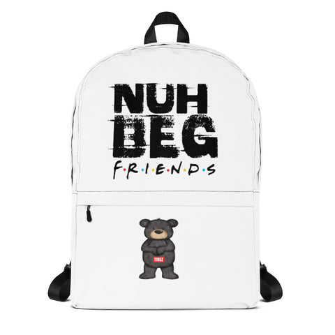 Nuh  beg friends Backpack - tingzapparel