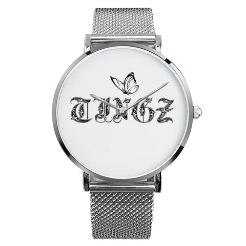 Tingz Office / Casual Watch (Silver) - tingzapparel