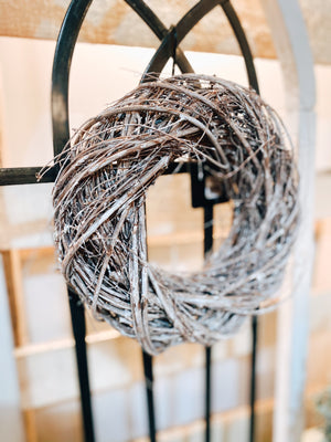 Dried Vine Wreath