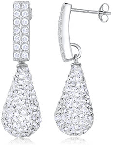 Special Sterling Silver S925 Earrings with Stones