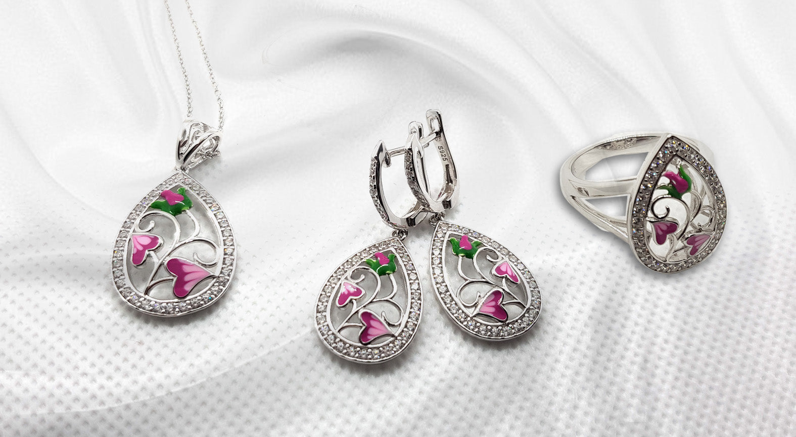 Blossom Sterling Silver Complete Set