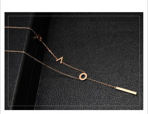Long Love Necklace (18K Gold Plated)