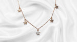 S925 Sterling Silver Twinkle Twinkle Necklace For Her (18K Gold Plated)