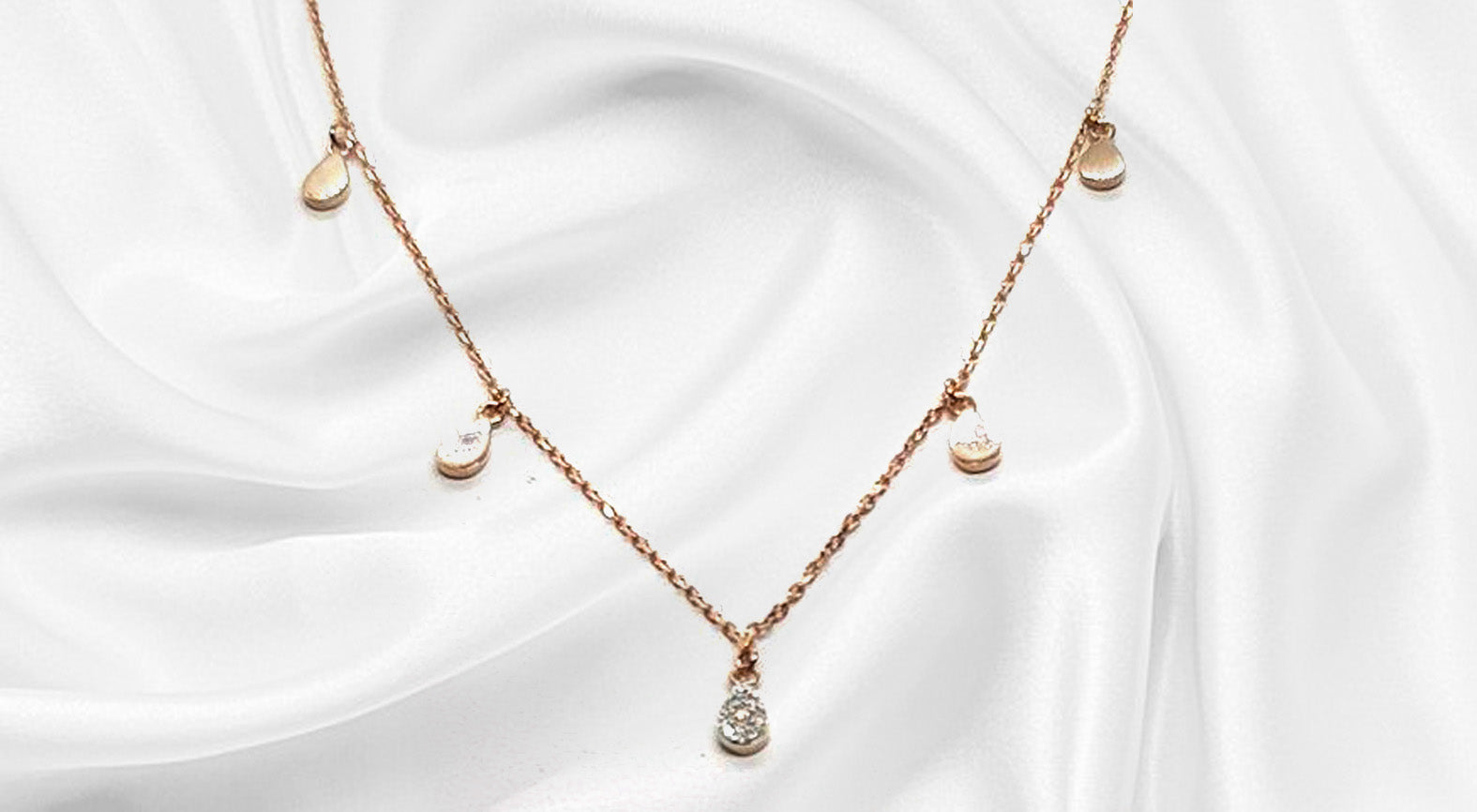 S925 Sterling Silver Cinderella Awesome Necklace (18K Gold Plated)