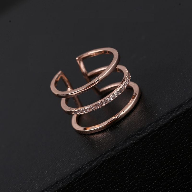 18K Gold Plated Open Ring