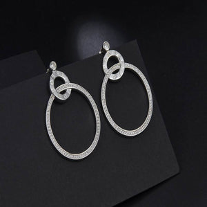 S925 Sterling Silver Possession Earring (Rhodium Plated)