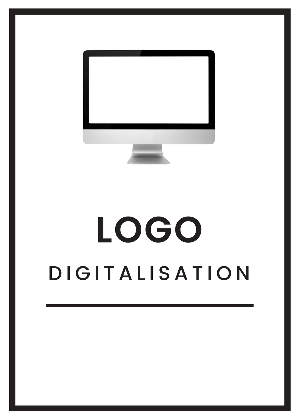 2. Branding | Digitising & Set Up Fee | New Logo