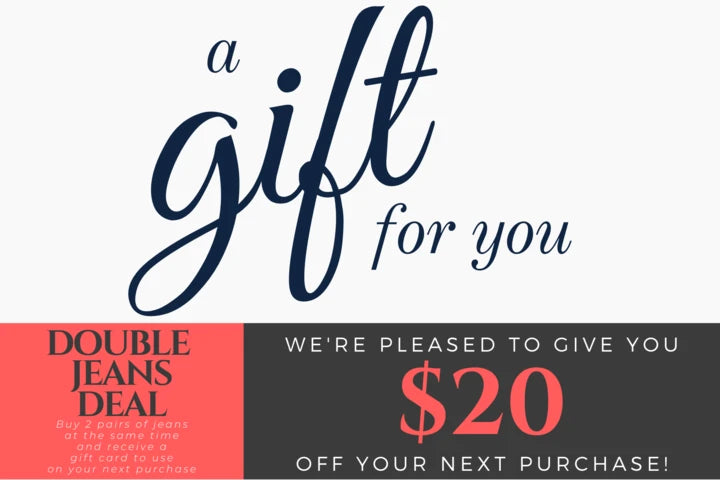 HW | Gift Card | DOUBLE JEANS