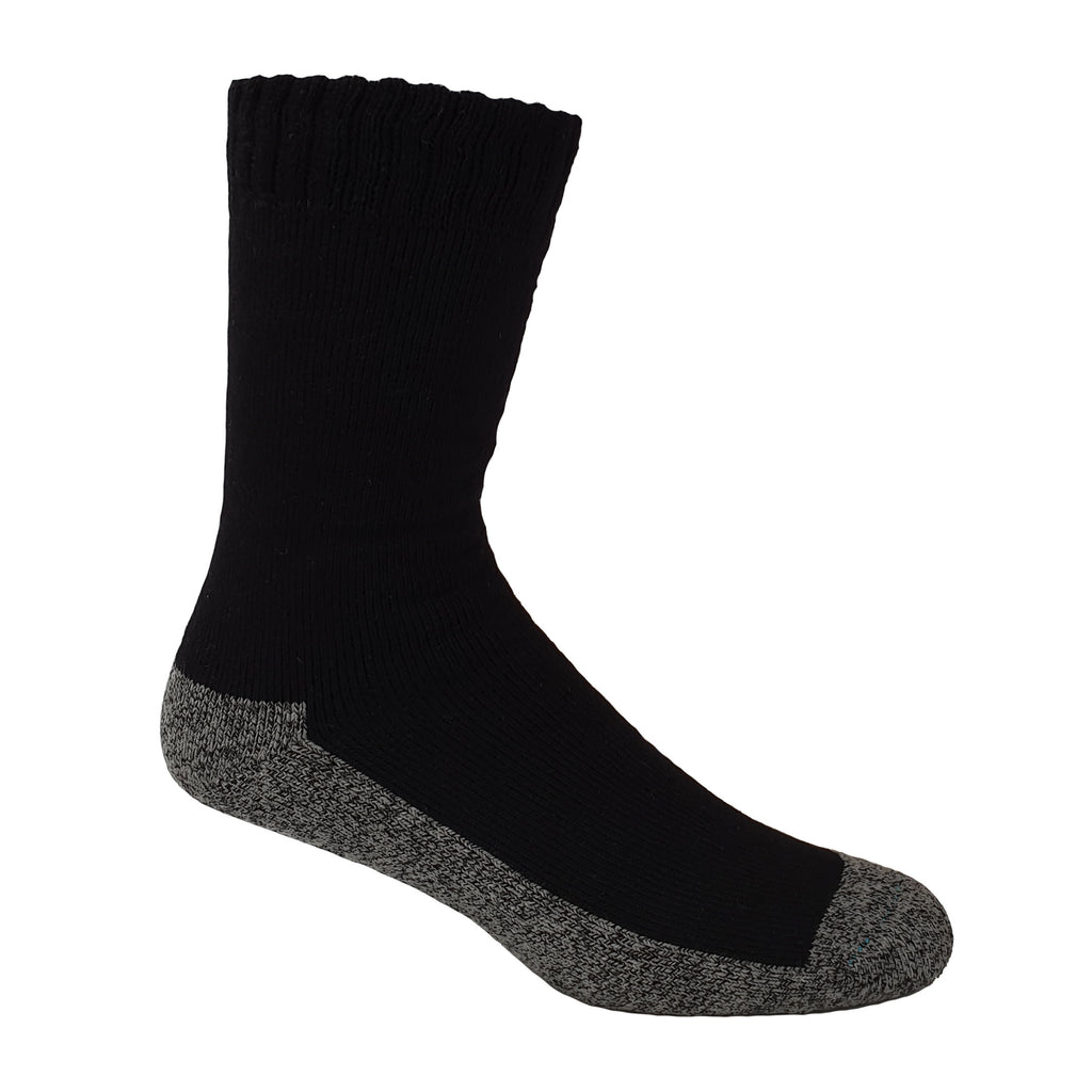 BT | Mens | Socks | Bamboo | 3 Yarn | 2 Pack | Black