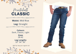 Mens | Jeans | Straight | 34"