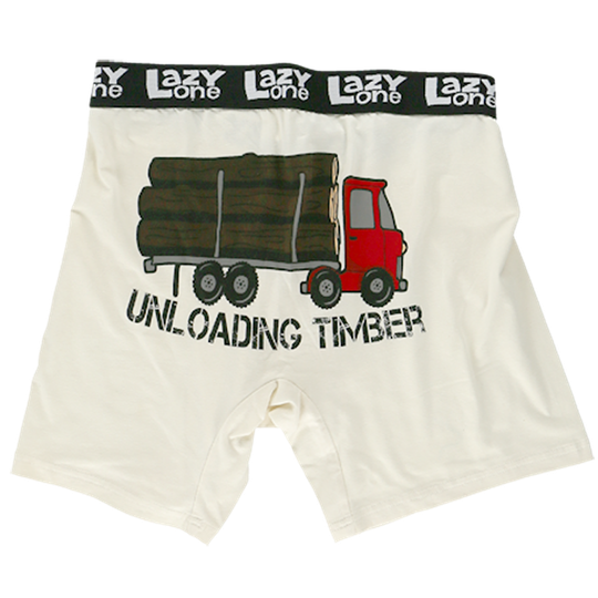 Mens | PJ's | Briefs | Unloading Timber