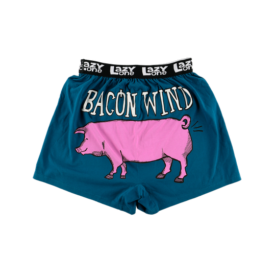 Mens | PJ's | Boxers | Bacon Wind