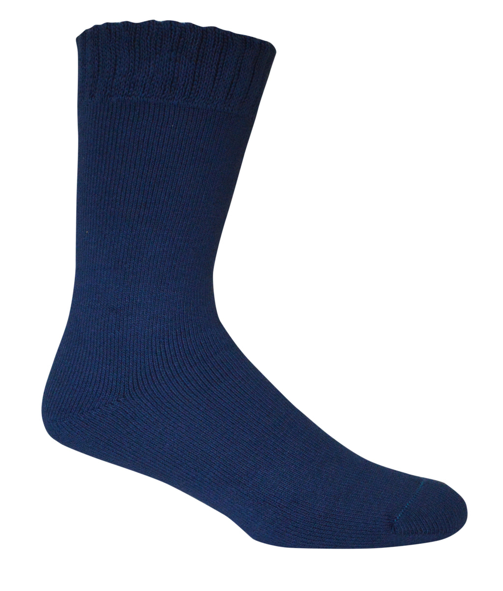 BT | Mens | Socks | Bamboo | Extra Thick | Blue