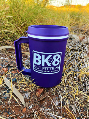 BK8 Outfitters | BK8 | Travel Mug | Purple - BK8 Outfitters Australia