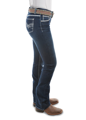 Pure Western | Womens | Jeans | Low Waist | Bootcut | 32"