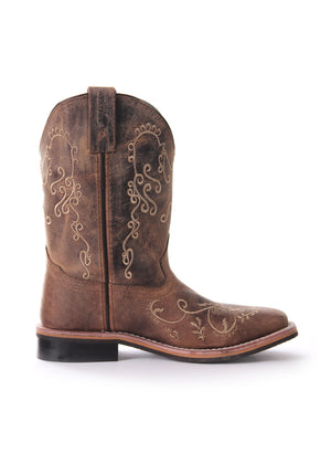 Pure Western | Kids | Boots | Toe Square Medium | Grace | Children - BK8 Outfitters Australia
