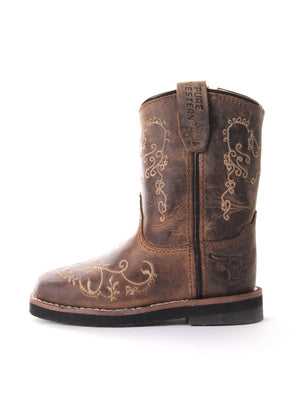 Pure Western | Kids | Boots | Toe Square Medium | Grace | Toddler - BK8 Outfitters Australia
