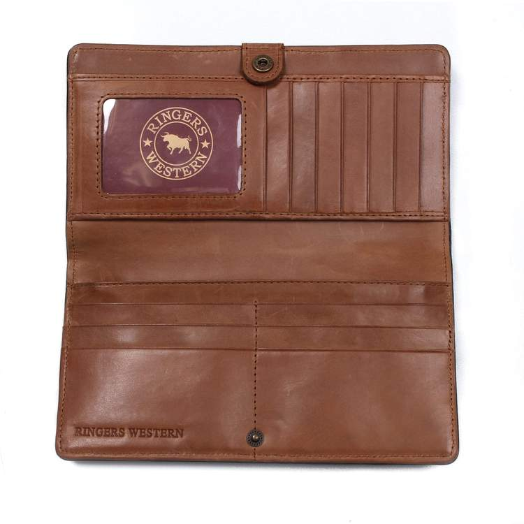 Ringers Western | Womens | Wallet | Chinchilla | Black Whiskey - BK8 Outfitters Australia