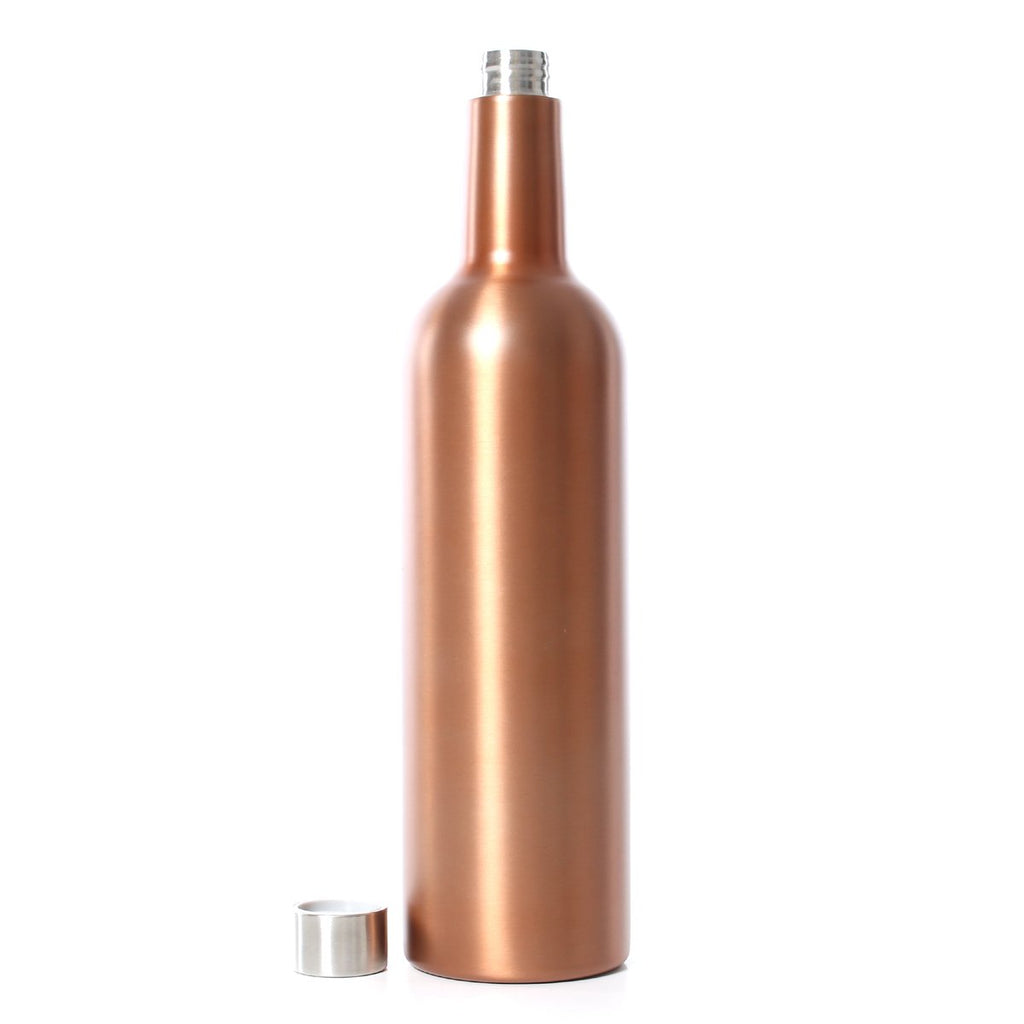 Ringers Western | Lifestyle | Drinking | Daisy Wine Bottle | Rose Gold