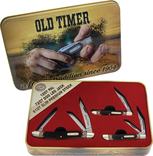 Accessories | Knife | Delrin | Old Timer 3 Pce Gift Tin