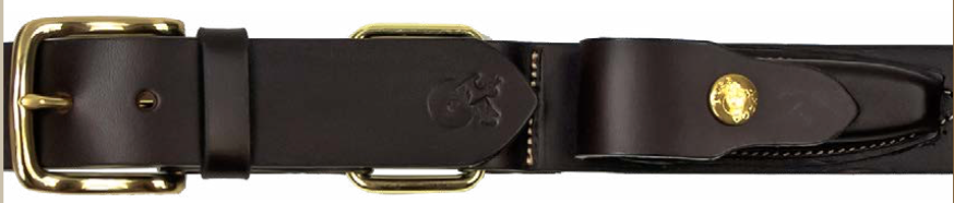 Boss Cocky | Mens | Belt | Pouch | Drover | 40mm | Brown