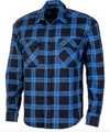 Ritemate | Mens | Shirt | Flannelette | Royal\Navy