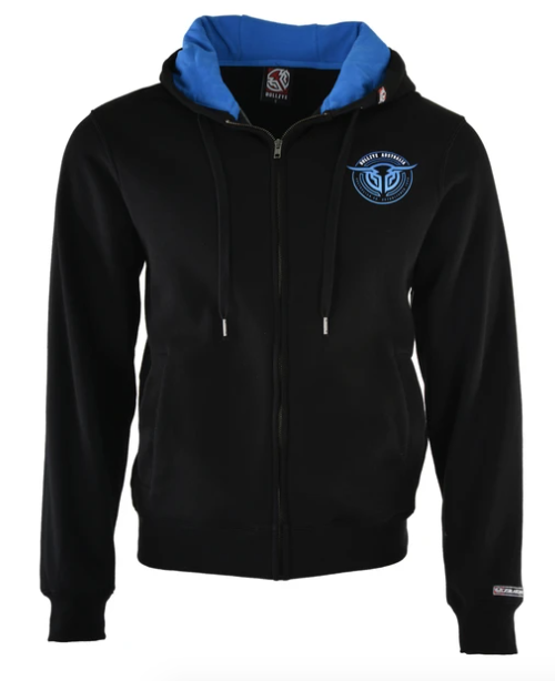 Bullzye | Mens | Zip Up Hoodie | Territory | Black