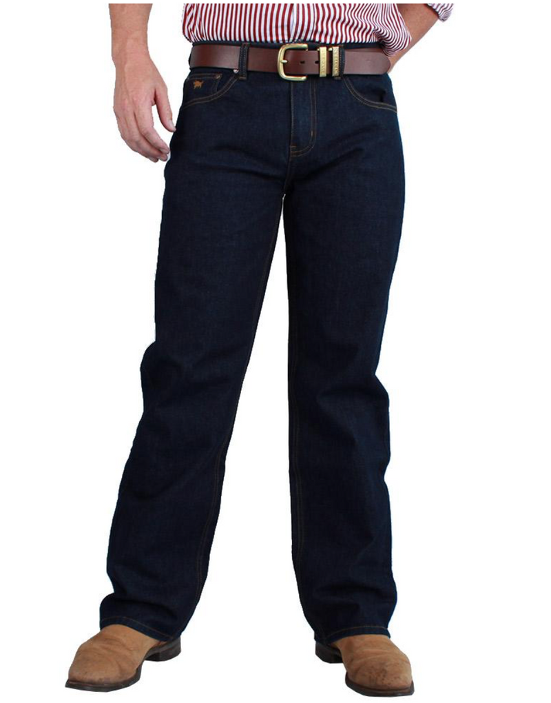 Sturt Mens Classic Fit Jean | Relaxed Leg | Dark Blue | 36