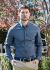 Thomas Cook | Mens | Shirt | Mckinnon | Navy
