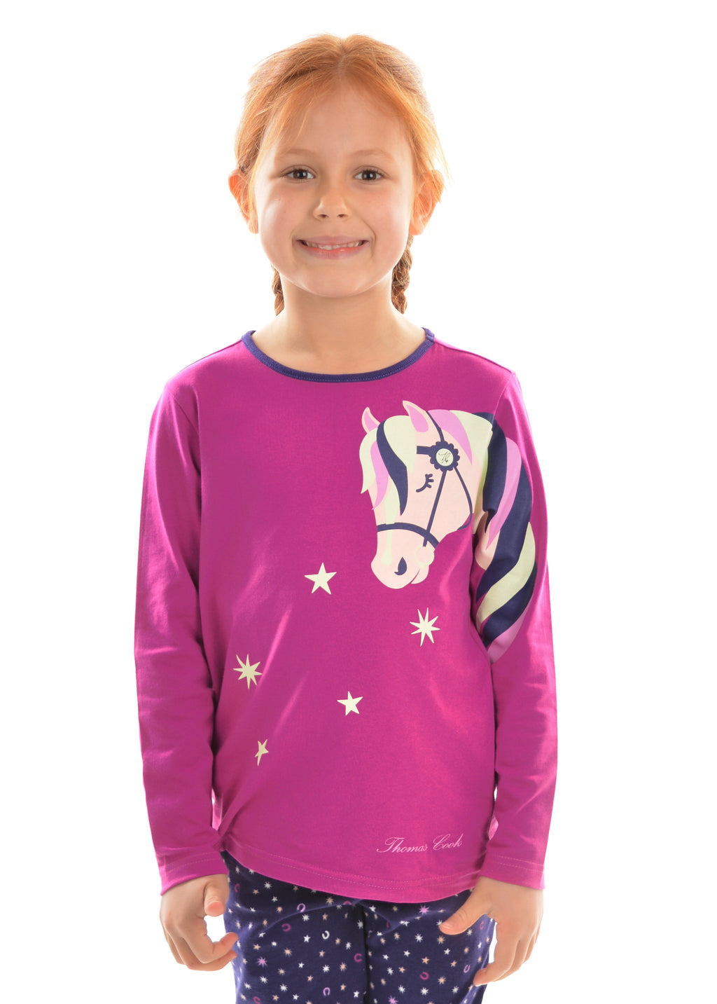 Kids | PJ's | Glow In The Dark | Star Horse