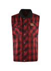 Thomas Cook | Mens | Winter | Vest | Mallard | Red