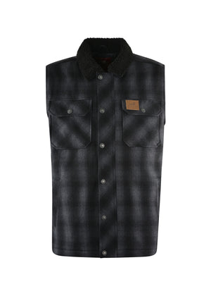Thomas Cook | Mens | Winter | Vest | Mallard | Charcoal