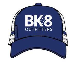 BK8 Outfitters | Hats | Trucker | BK8 | Square | Classic - BK8 Outfitters Australia