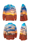 Big Fish | Kids | Fishing Shirts | Sunset - BK8 Outfitters Australia