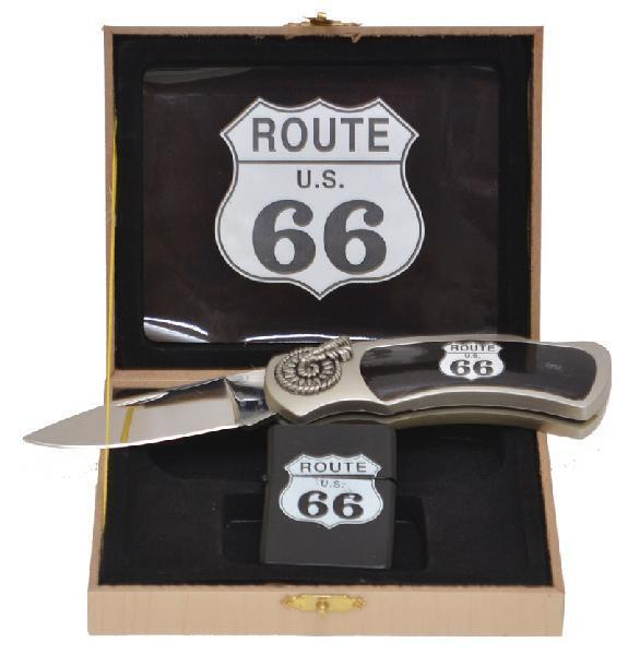 Accessories | Knife & Lighter Set | Route 66