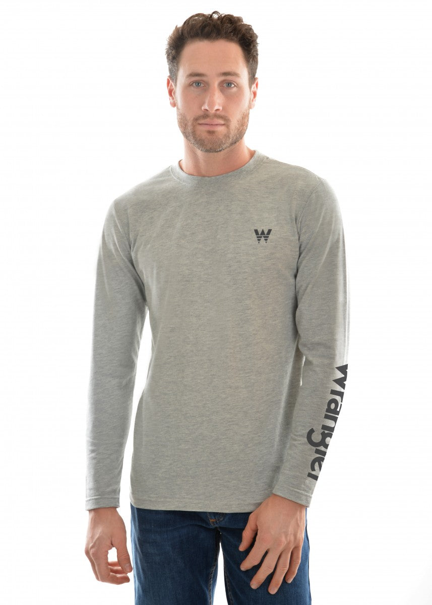Wrangler | Mens | Winter | L/S Tee | Logo