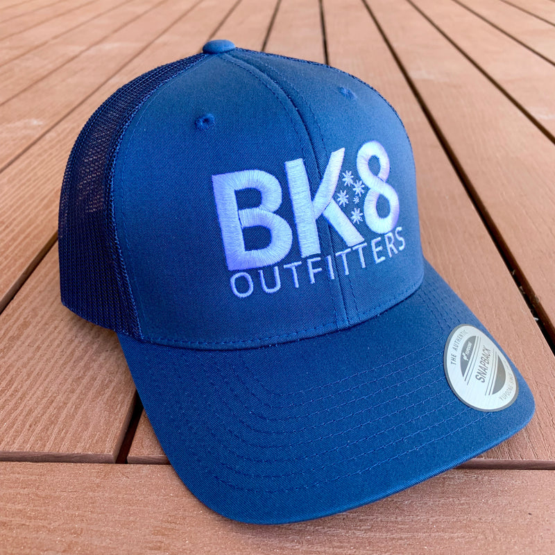 BK8 Outfitters | BK8 | Hat | Trucker | Navy - BK8 Outfitters Australia