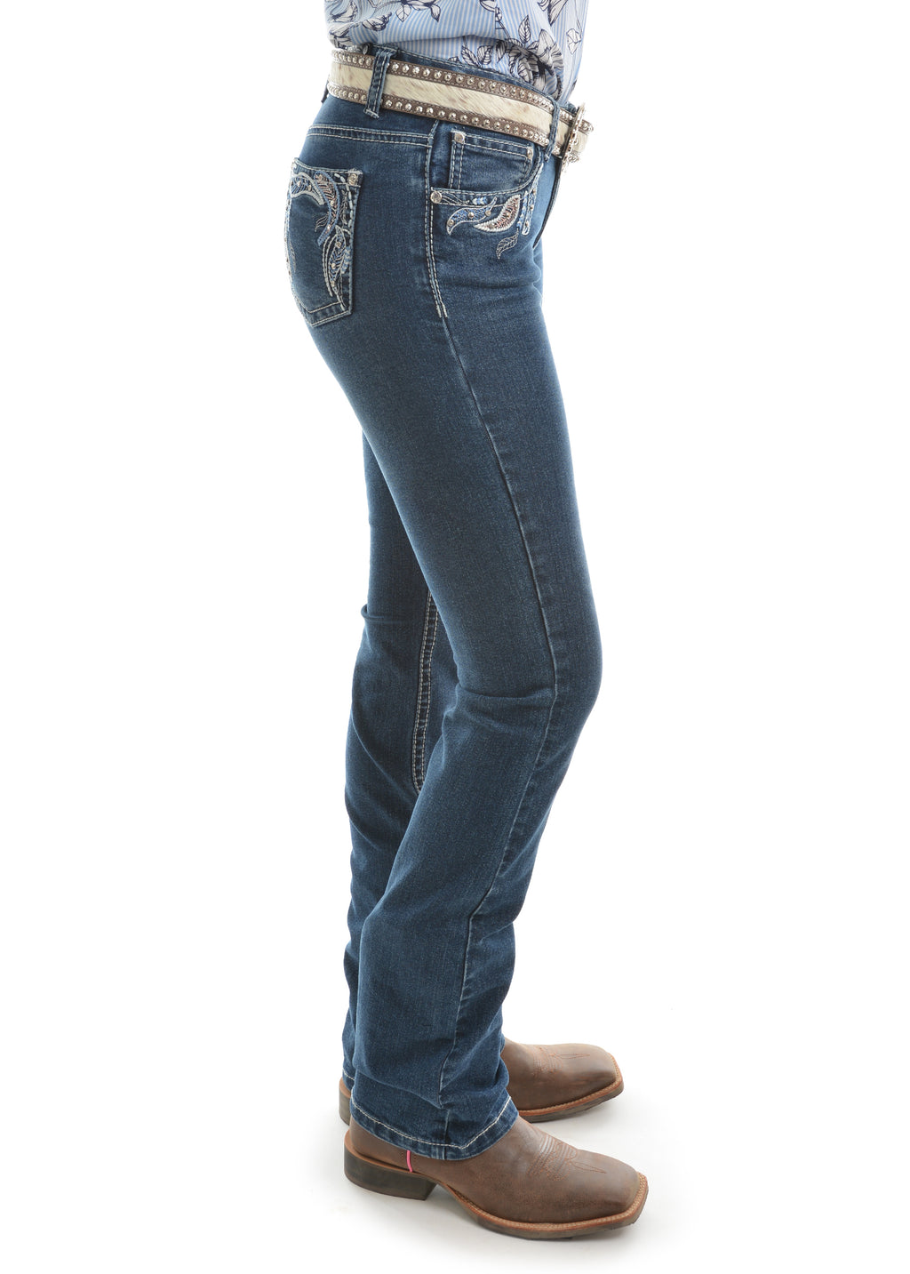 Pure Western | Womens | Jeans | Waist Low | Bootcut | 34"