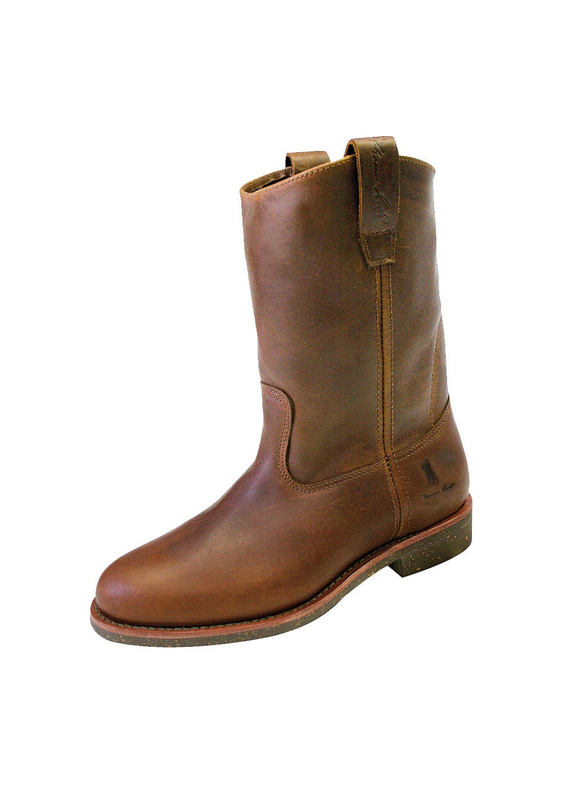 Mens | Boots | Toe Roper | Super Doggers | Brown Coachman