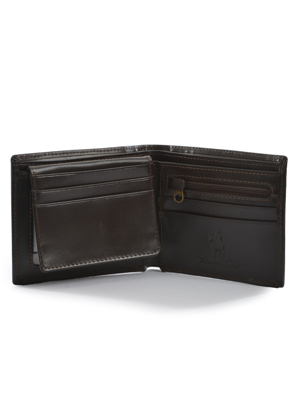 Thomas Cook | Lifestyle | Wallet | Leather Edged | Dark Brown