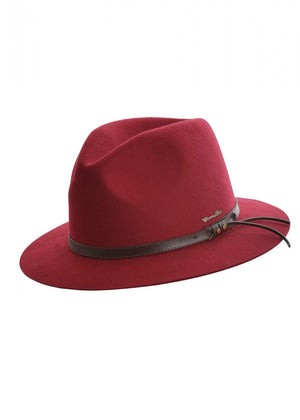 Thomas Cook | Hats | Lifestyle | Jagger | Wool | Red - BK8 Outfitters Australia