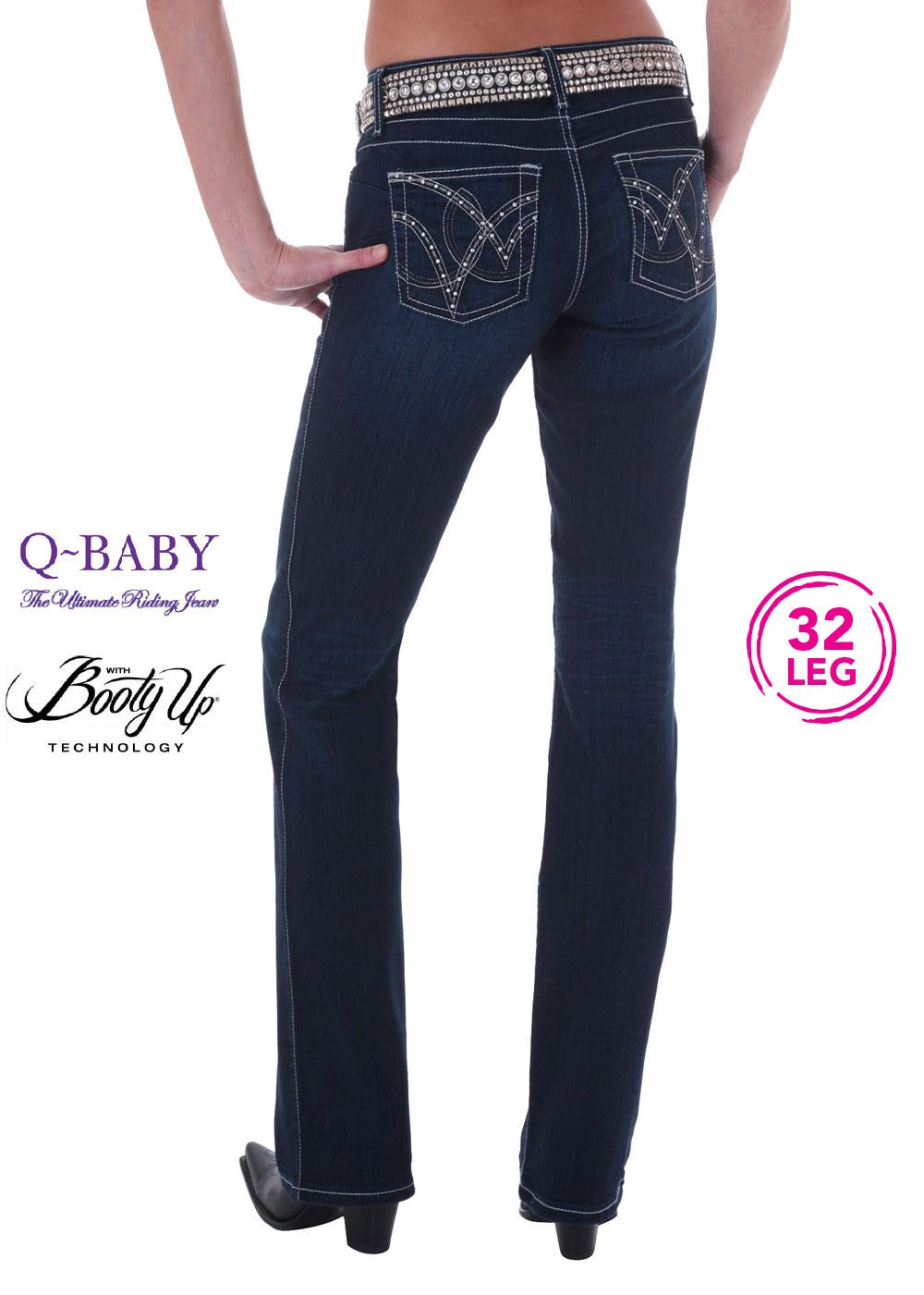 Wrangler | Womens | Jeans | Waist Low | Bootcut | 32"