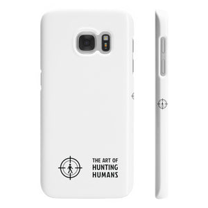 The Art of Hunting Humans - Slim Phone Cases